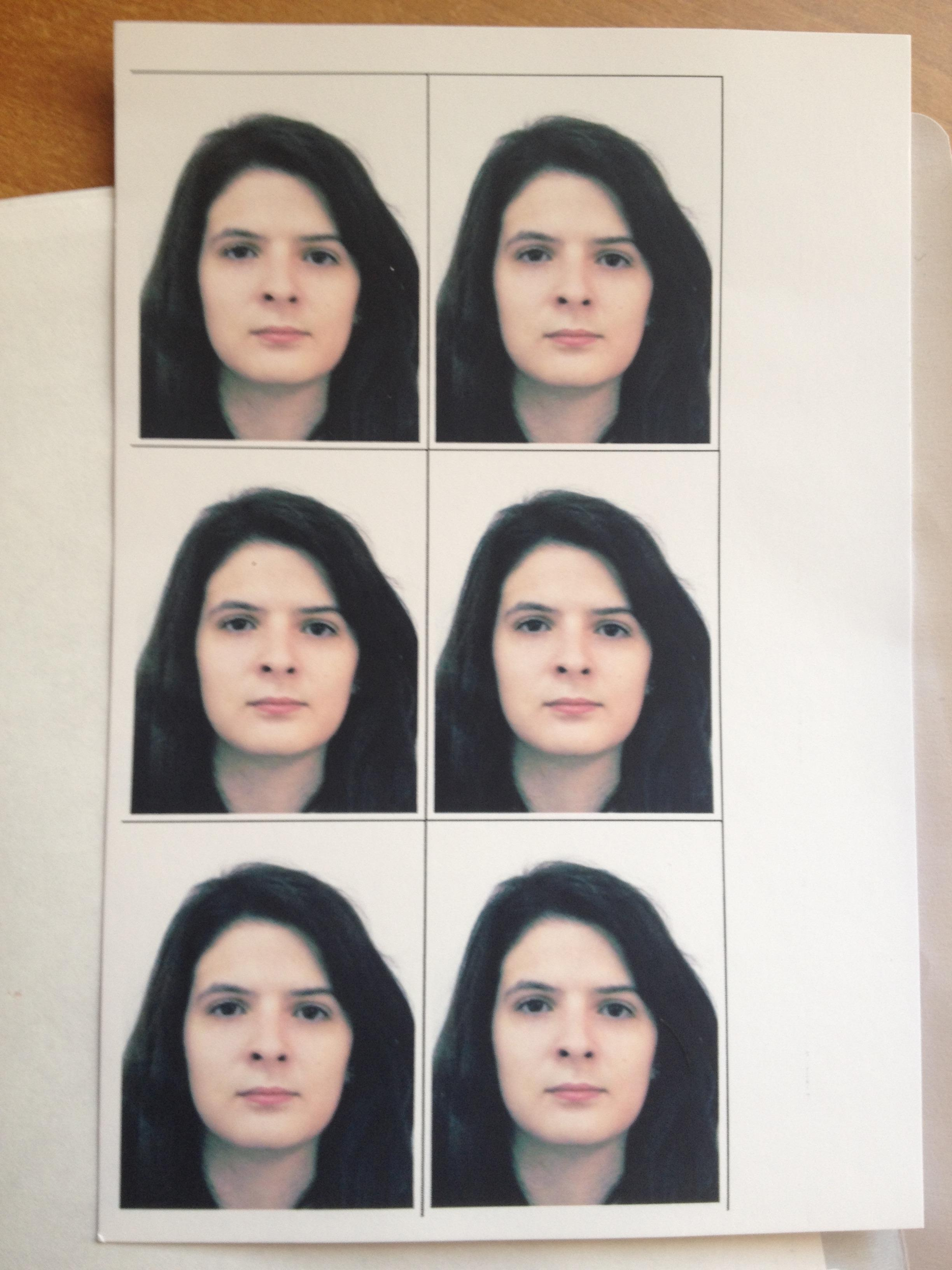 Фото на визу в домашних условиях