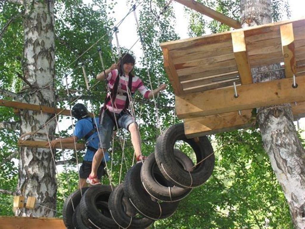 Детский веревочный парк своими руками 4
