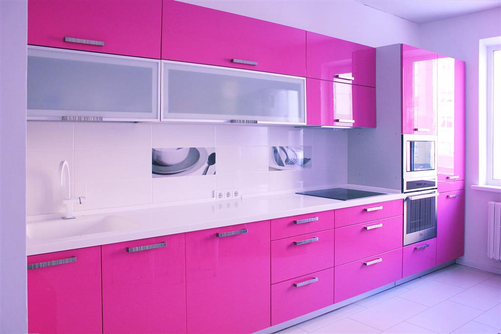 Розовая кухня отзывы