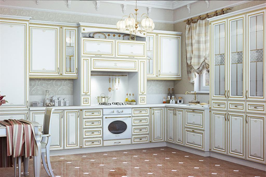 Мебель кухня патина