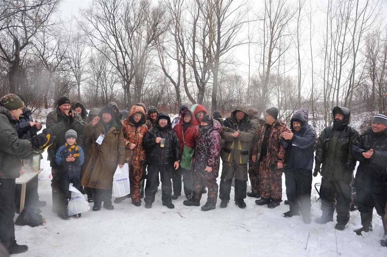 Открытие зимнего рыболовного сезона Ротан - 2015