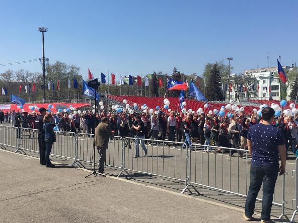 Напервомайской демонстрации вСамаре ожидают 30 тыс. участников
