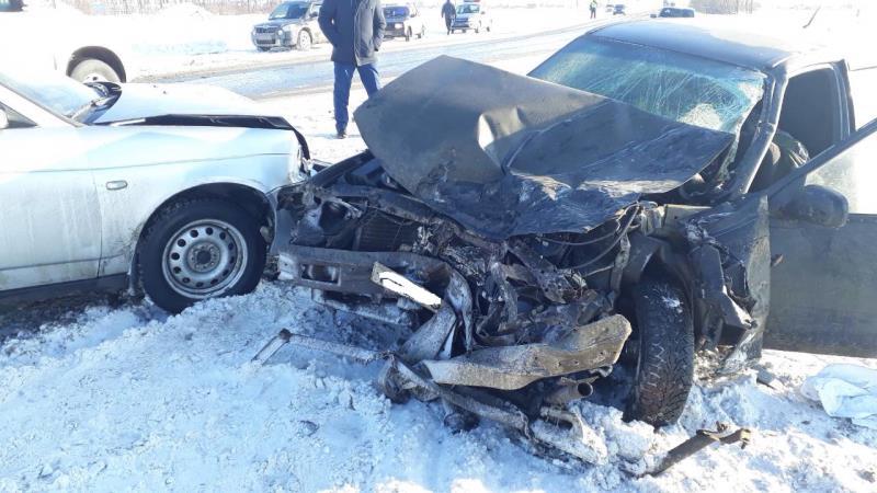 ВКинельском районе три человека погибли вДТП сучастием четырех авто