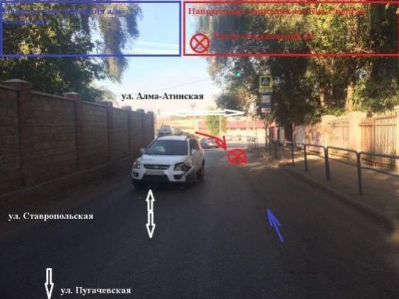 ВСамаре шофёр без прав устроил ДТП, вкотором пострадали два человека