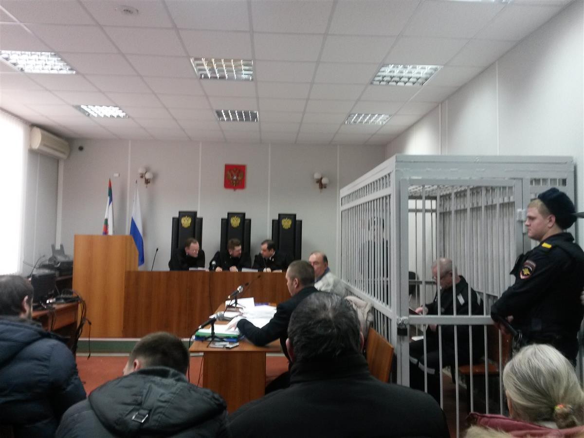 ВСамаре начался суд над отставным полковником ГРУ Владимиром Квачковым