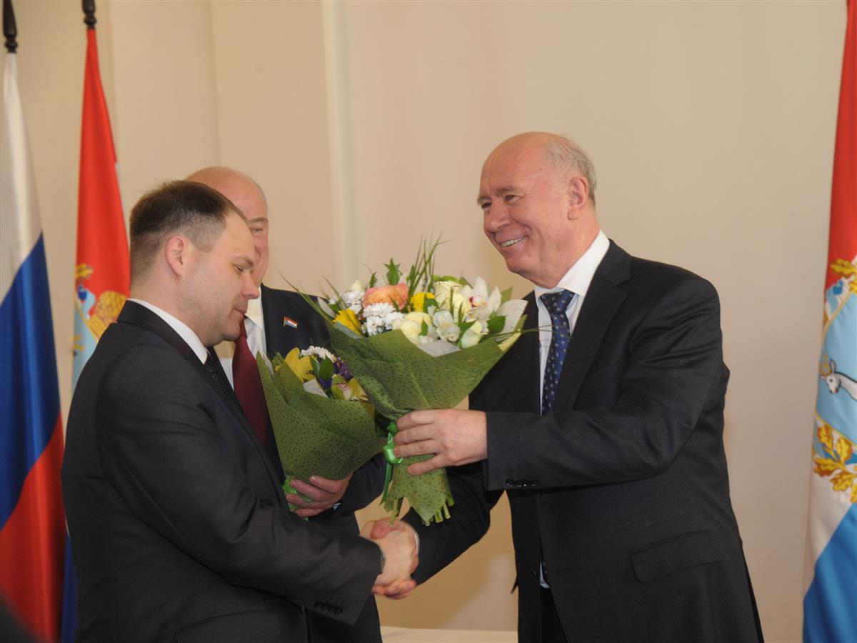 Виталий Ащепков занял пост руководителя Чапаевска