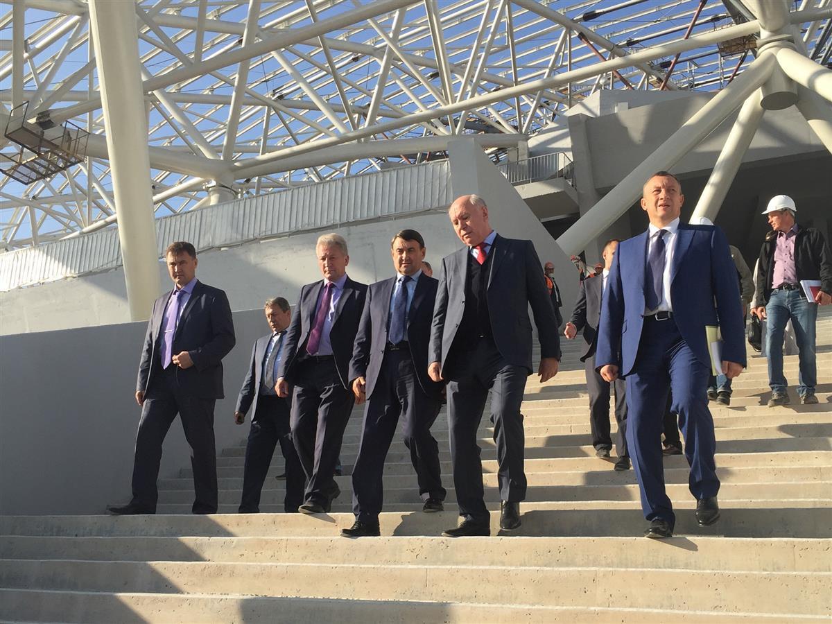 Игорь Левитин остался доволен ходом возведения  «Самара-Арены»