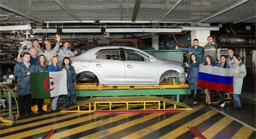 Волжский автомобильный завод удвоил мощности попроизводству кузовов Рэно Logan