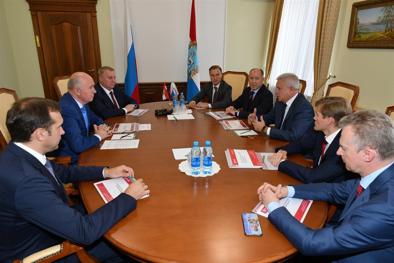 «Лукойл» построит новый спорткомлекс вСамарской области