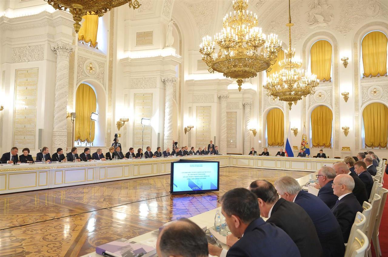Путин: экология РФ имеет планетарный диапазон