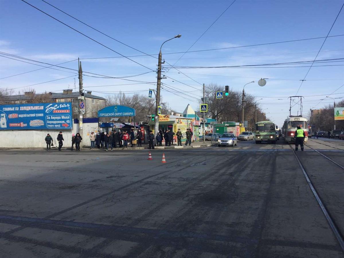 ДТП вСамаре: под колесами «Nissan» умер мужчина-пешеход