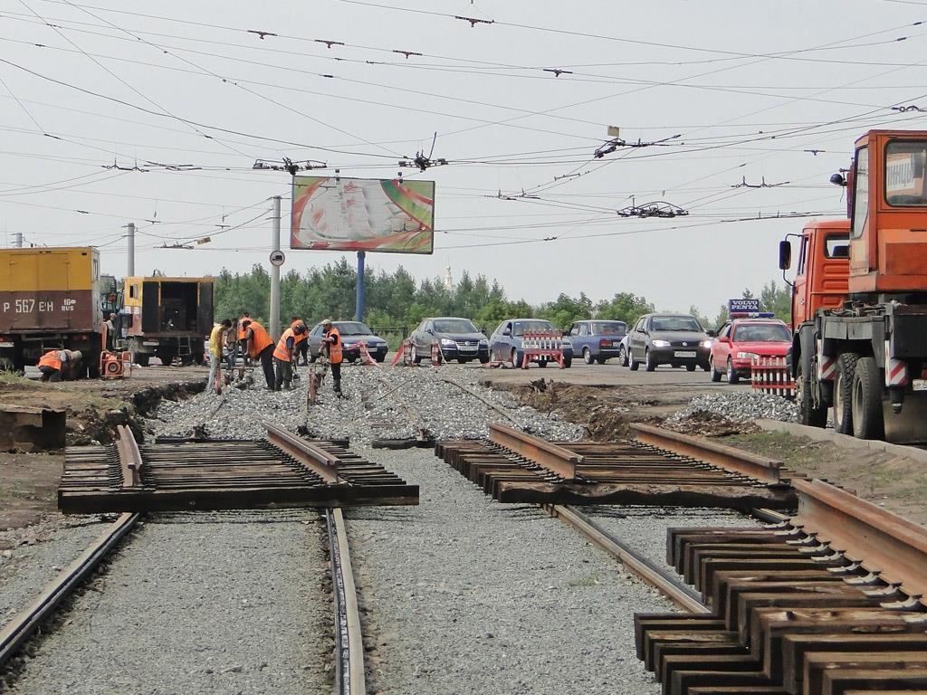 ВСамаре изымают землю под строительство веточки трамвая достадиона дляЧМ
