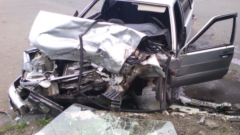Три человека пострадали встолкновении ВАЗа иМазды вСамаре
