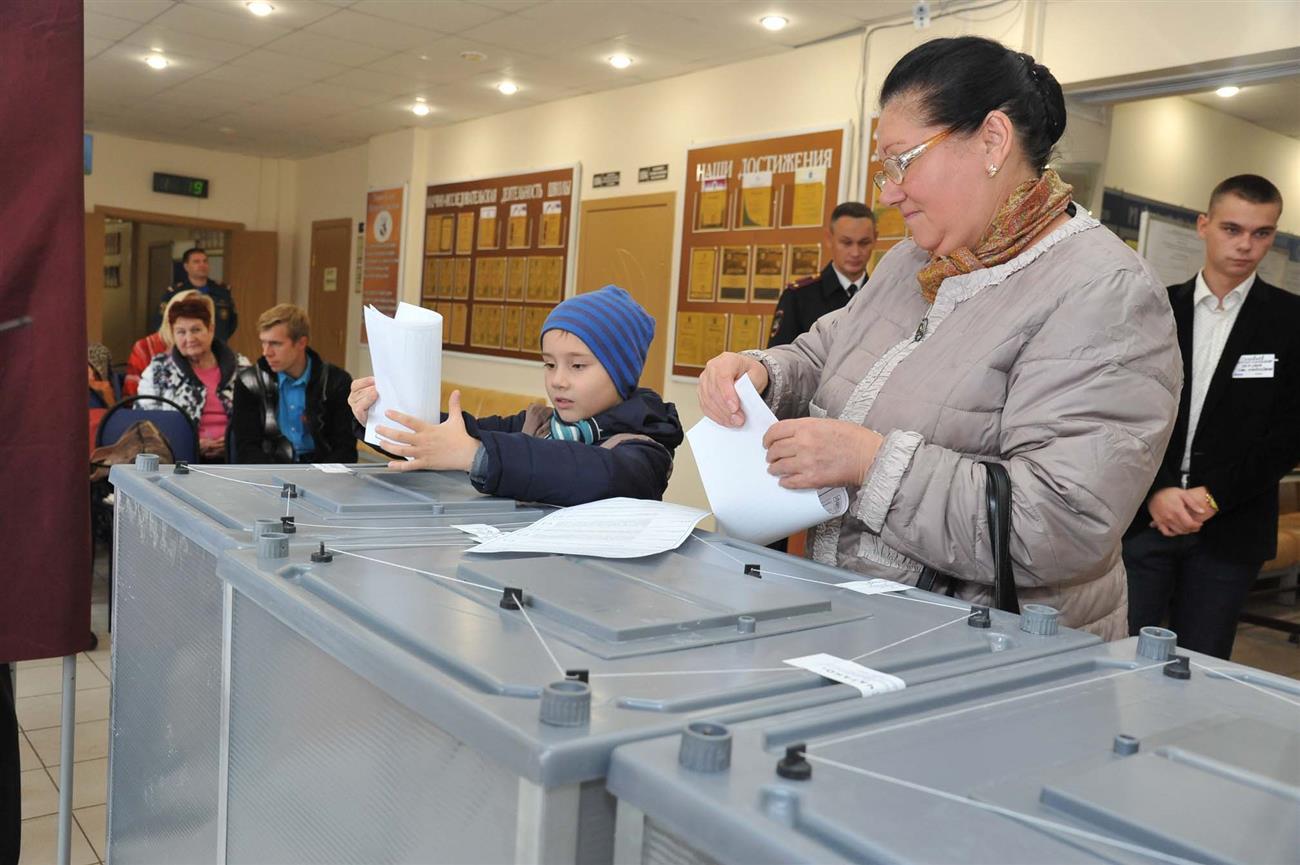 Явка вСамарской области на18 часов составила 44,85%