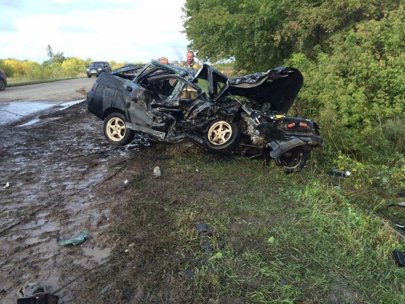 ВСамарской области вавтокатастрофе погибли два человека