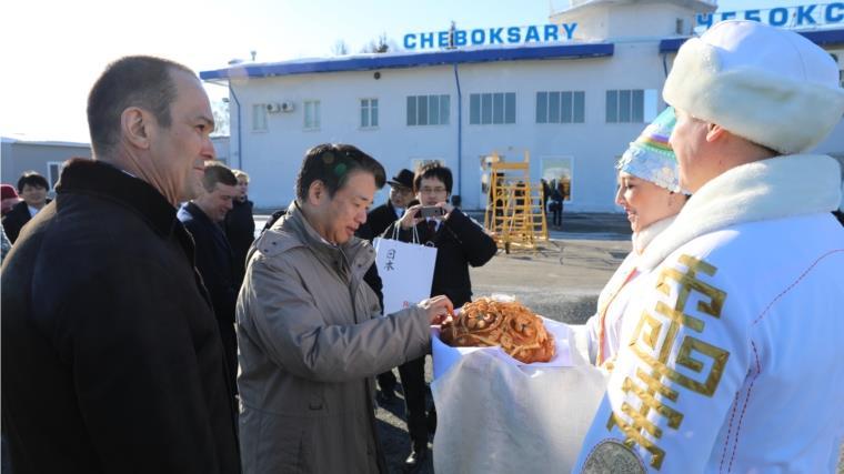 Посол Японии в Российской Федерации прибывает вЧувашию софициальным визитом