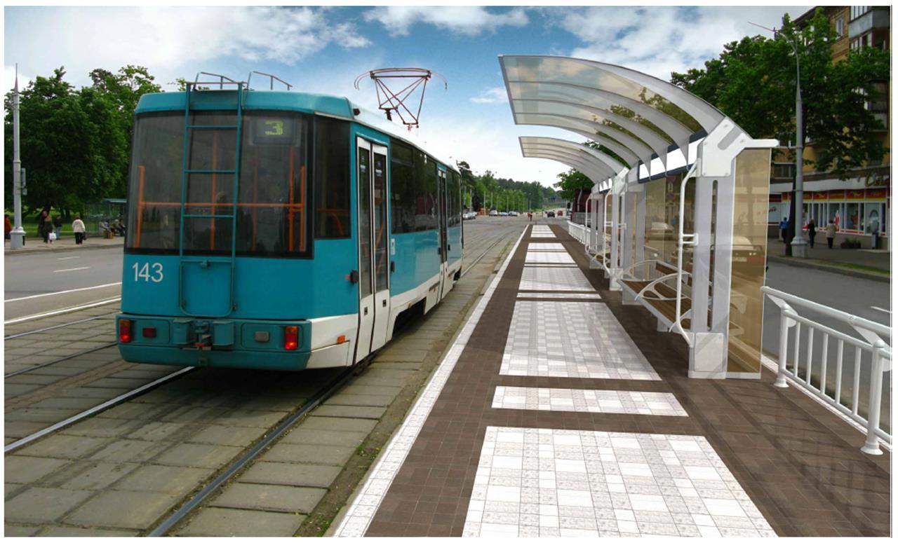 Новейшую трамвайную ветку досамарского стадиона построит здешняя компания