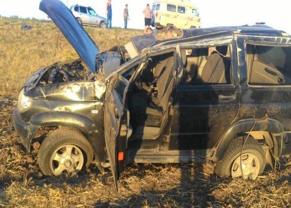 Под Похвистнево перевернулся «УАЗ Патриот»: пострадали 5 человек