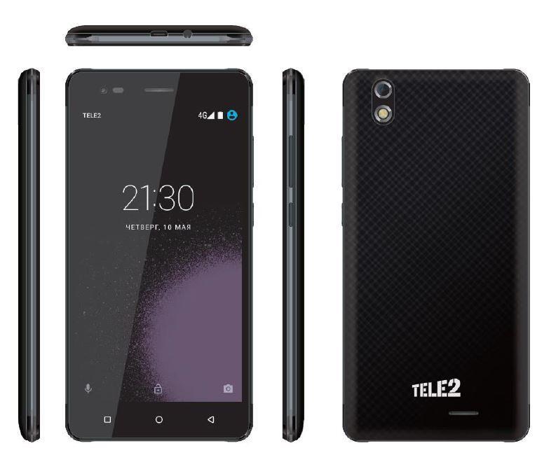 Новый смартфон Tele2 Maxi Plus споддержкой сети LTE поступит в реализацию
