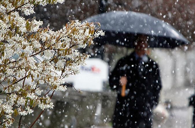 В столице России предполагается сильный снегопад исерьезные заторы