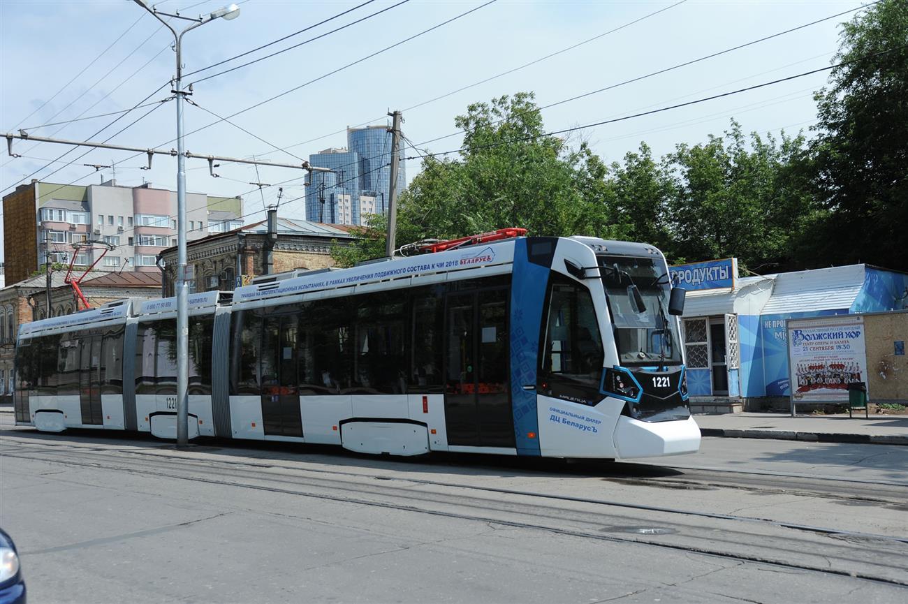 ПоСамаре будут курсировать 10 новых трехсекционных трамваев