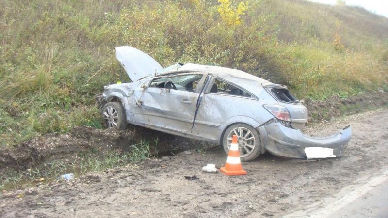 Под Самарой молодой автомобилист наиномарке слетел вкювет и умер