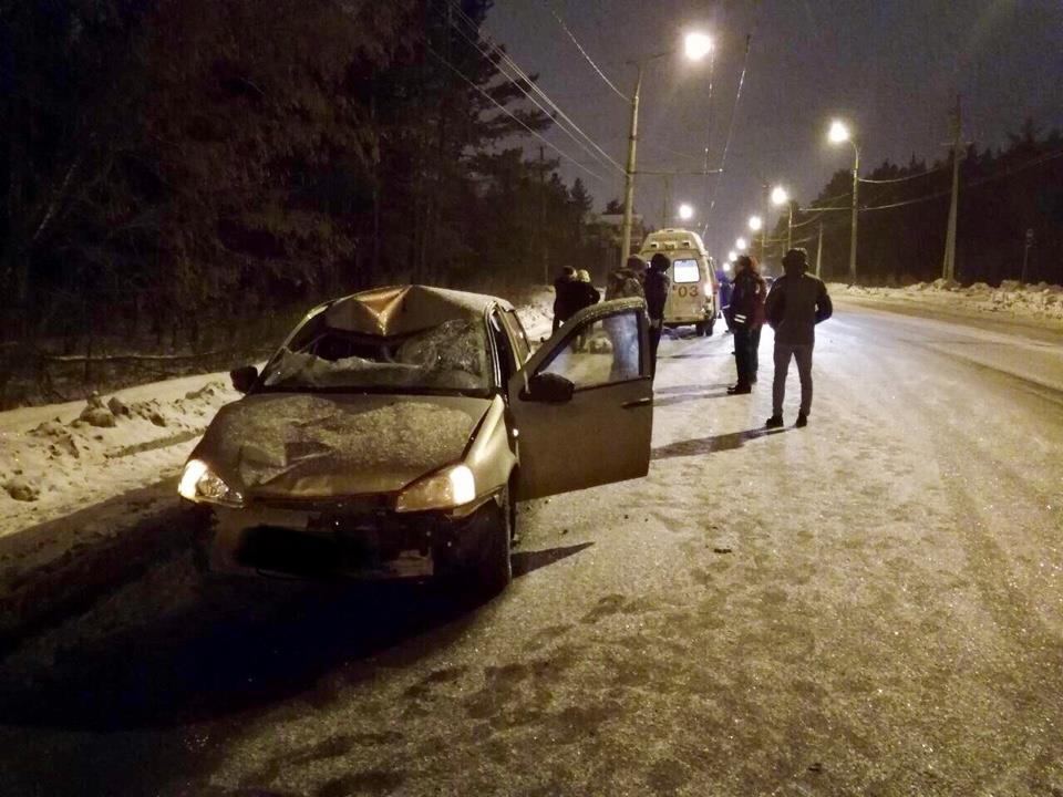 ВТольятти молодой шофёр наКалине насмерть сбил пожилого пешехода