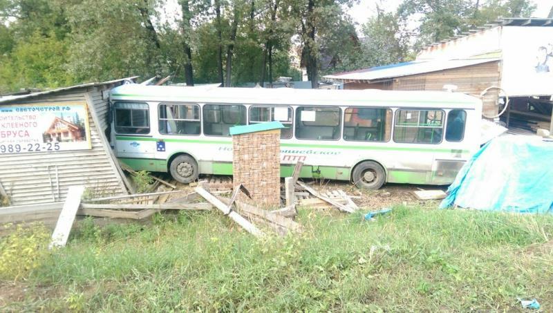 ВВолжском районе Самарской области пешеход был сбит пассажирским автобусом