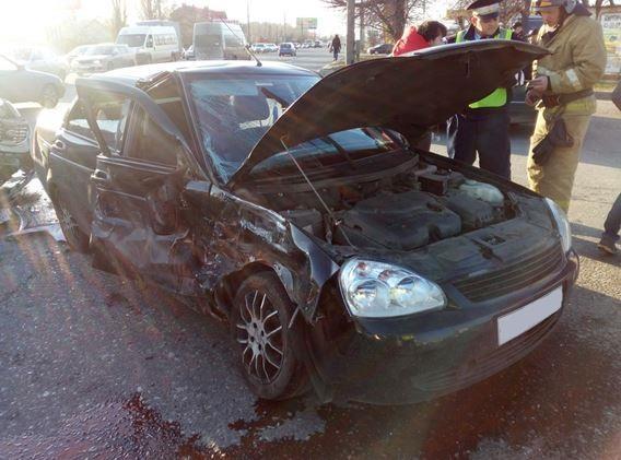 Задень вТольятти вавариях пострадали два ребенка-пассажира