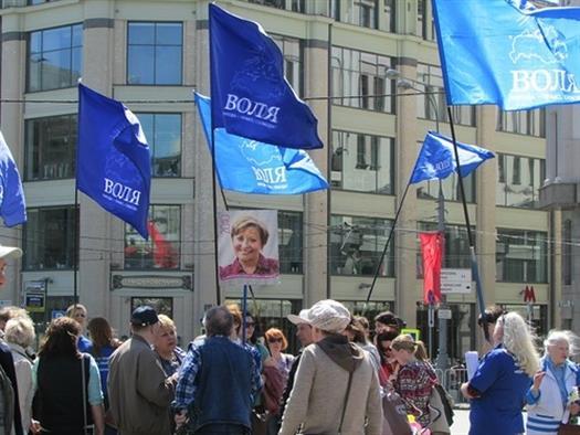 ВСРФ узаконил ликвидацию партии «Воля»