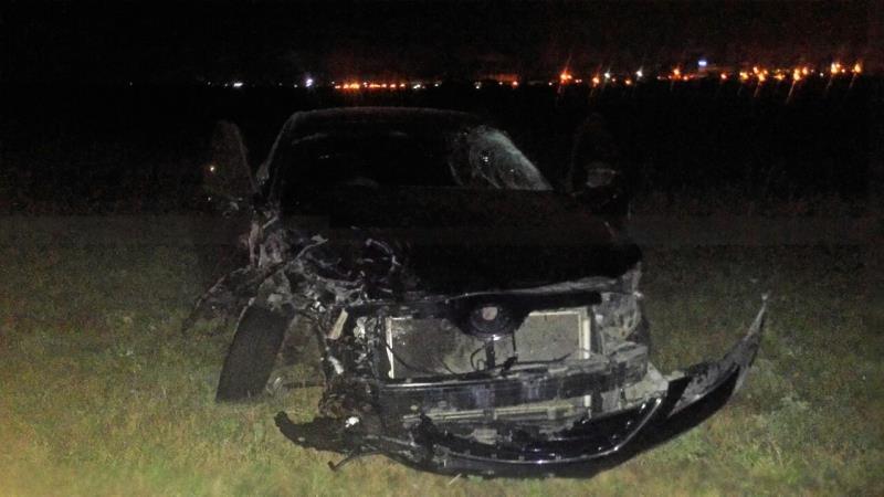 Под Сызранью, попавшая вДТП «Toyota Camry», насмерть сбила мужчину