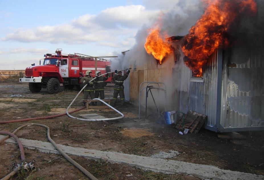 ВСызрани всгоревшем гараже отыскали трупы 2 человек