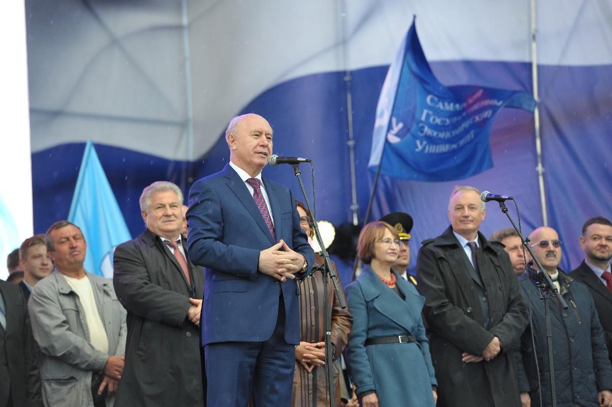 Участники парада студенчества «Евразия» выразили благодарность Беларуссии заподдержку
