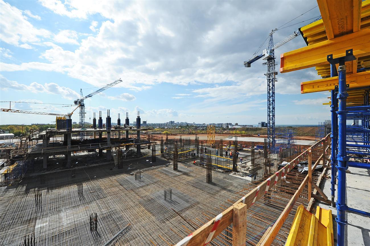 Стоимость возведения стадиона вСамаре увеличена до18,9 млрд руб.