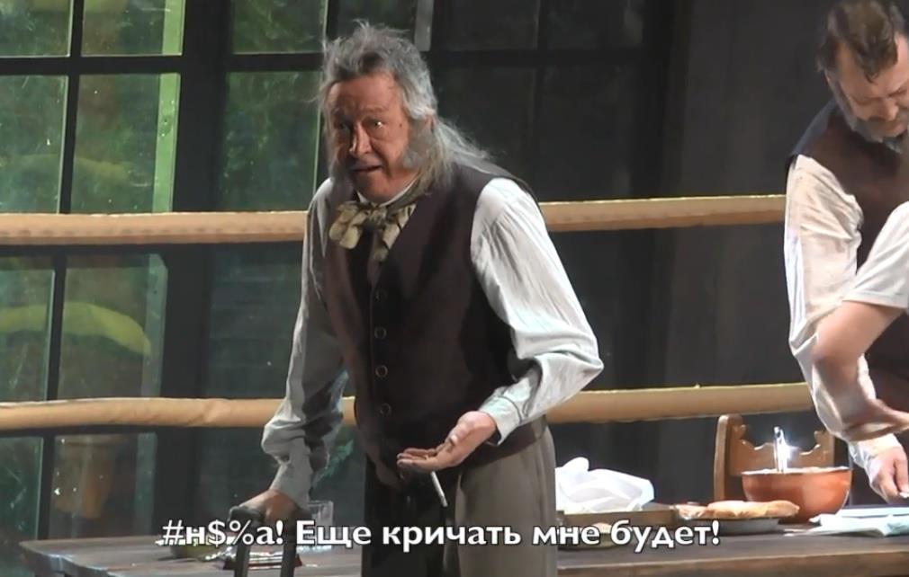 Размещено видео скандального выступления артиста Михаила Ефремова вСамаре
