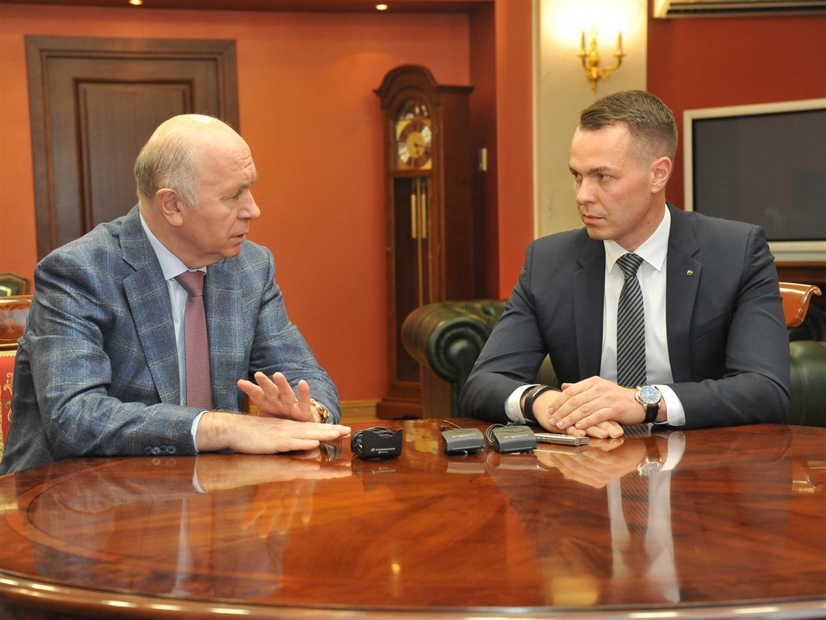 Н. И. Меркушкин провел рабочую встречу с В. В. Ситновым