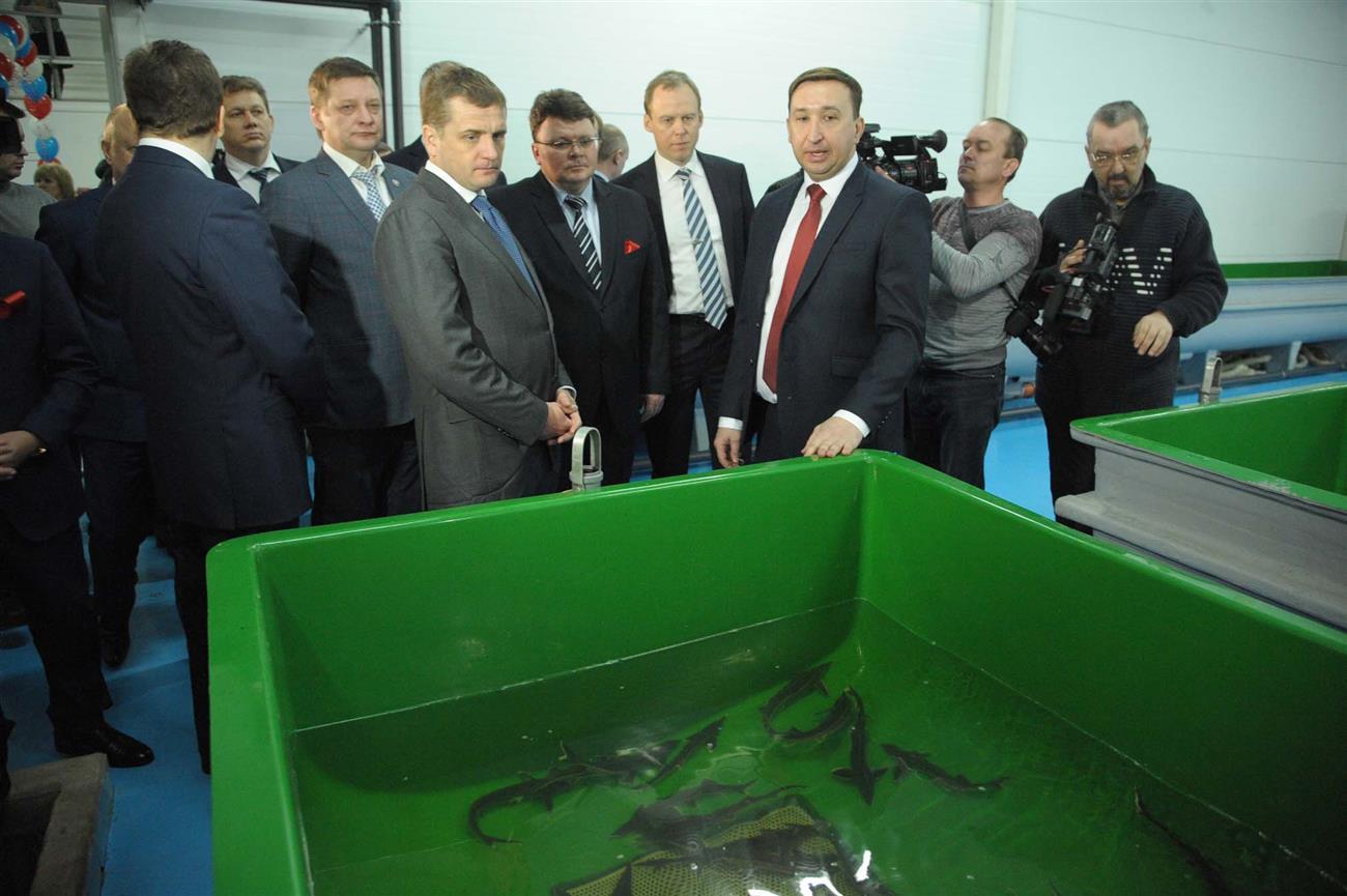 ВСамарской области начал работу новый рыборазводный завод