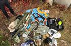 Схрон с впечатляющим арсеналом оружия нашли при расследовании убийства бизнесмена Вадима Винокурова