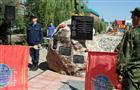 В Пугачеве торжественно открыт бюст Героя РФ Виктора Тюрикова