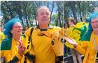 На матч Австралия - Дания в Самару приехали 900 датчан и 12 тыс. австралийцев