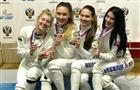 Самарские шпажистки выиграли две золотые медали в Сочи