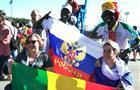"""Болельщик из Сенегала Мэйсс: """"Колумбия победит на трибунах, а Сенегал - на поле"""""""