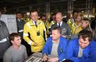 Дмитрий Азаров впервые в качестве главы региона посетил с рабочим визитом АвтоВАЗ