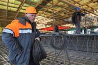 Фундамент под стадион к ЧМ-2018 в Самаре готов на четверть