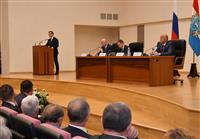 Михаил Бабич представил временно исполняющего обязанности губернатора Самарской области Дмитрия Азарова