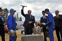 Губернатор дал старт строительству физкультурно-спортивного центра в Кошках