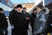 Губернатор Николай Меркушкин принял участие в торжественной церемонии передачи 82 пассажирских автобусов