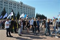 В параде студенчества приняло участие 8500 первокурсников