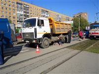 На ул. Челюскинцев в Самаре грузовик насмерть задавил женщину