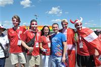 Вокруг игры сборных  Дании vs Австралии
